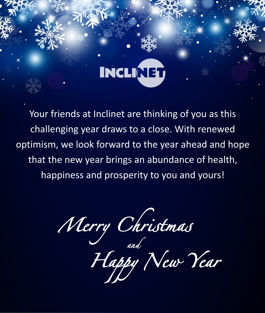 Inclinet Christmas Greeting 2020